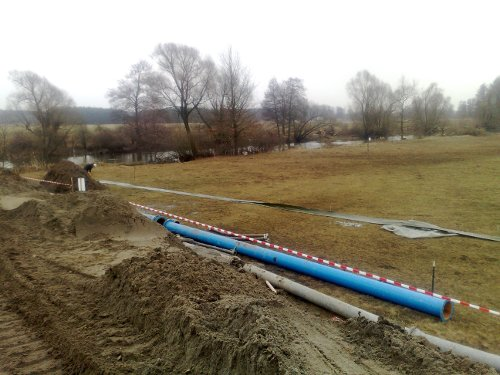 "Spreenhagen – Germany<br>Opal natural gas pipeline DN 1400 (56"") and open-cut river crossing"