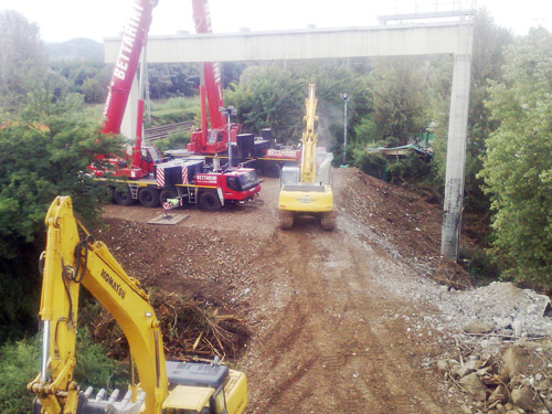 Dismantling of Snam Rete Gas pipeline